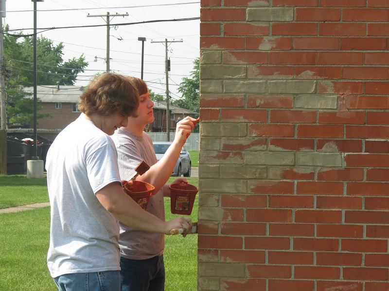 Image result for brick repair