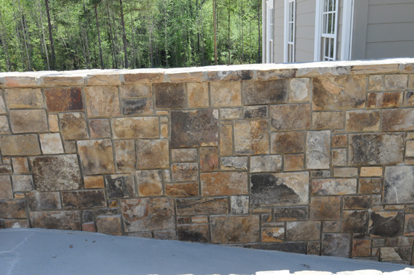 Tennessee Fieldstone Fireplace : Stone coping for masonry walls utmost renovations