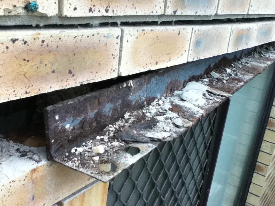 Steel Lintel Repair