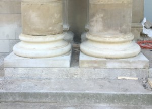 Columns After Renovation
