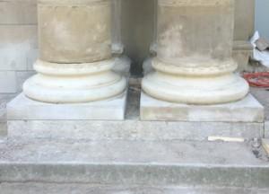 Columns After Renovation