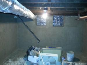 Basement Repair After
