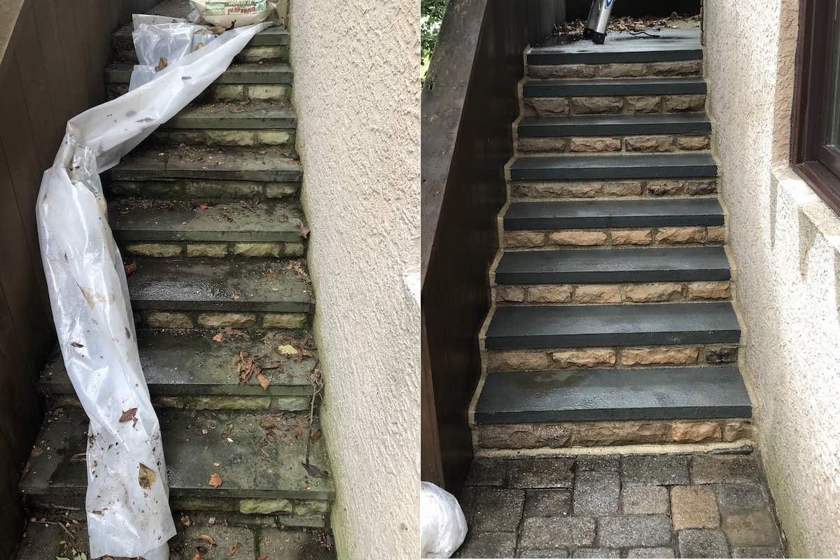 Stone Steps Repair