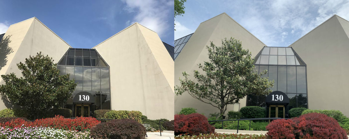 EIFS Repair Before and After